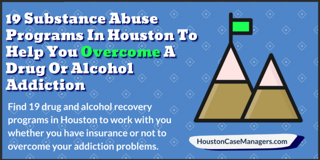 substance abuse programs in Houston
