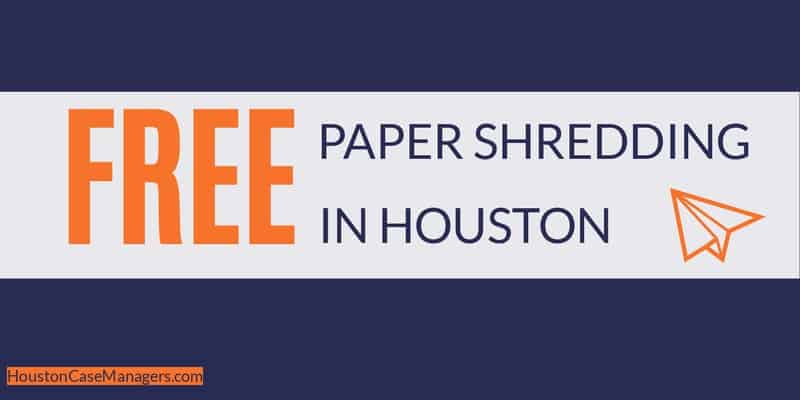 free paper shredding in houston