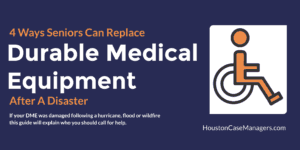 replace medical equipment after a disaster
