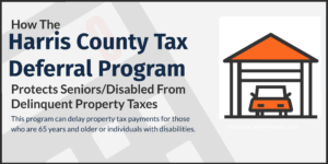 Harris County Tax Deferral