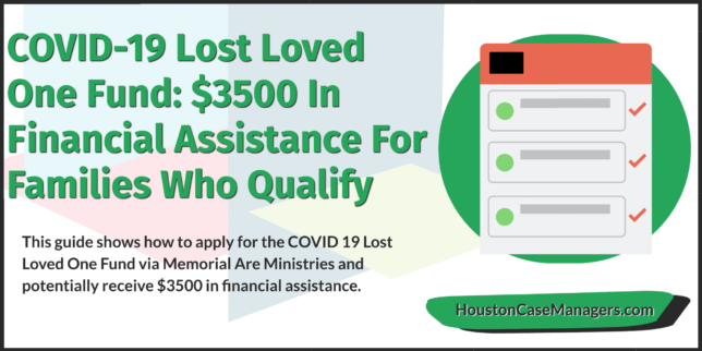 covid 19 lost loved one fund