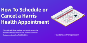 Harris Health appointment