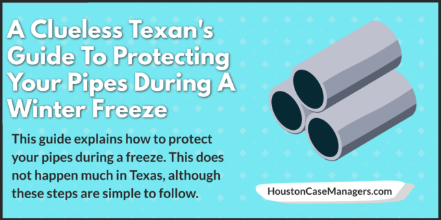 protect pipes freeze