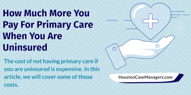 cost of primary care for the uninsured