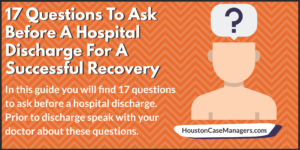 hospital discharge questions