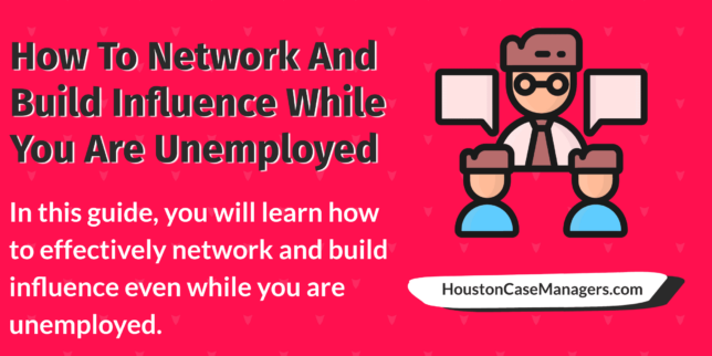 network while unemployed