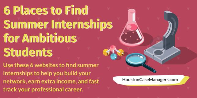 summer internships