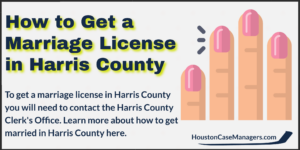 marriage license Harris county