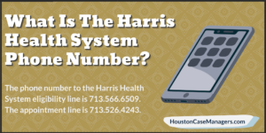 what is the harris health system phone number