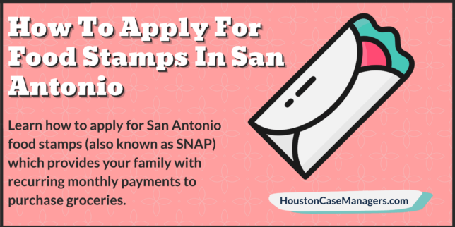 how to apply for food stamps in san antonio